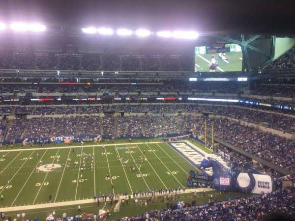 Lucas Oil Stadium, section: Upper level Suite 39