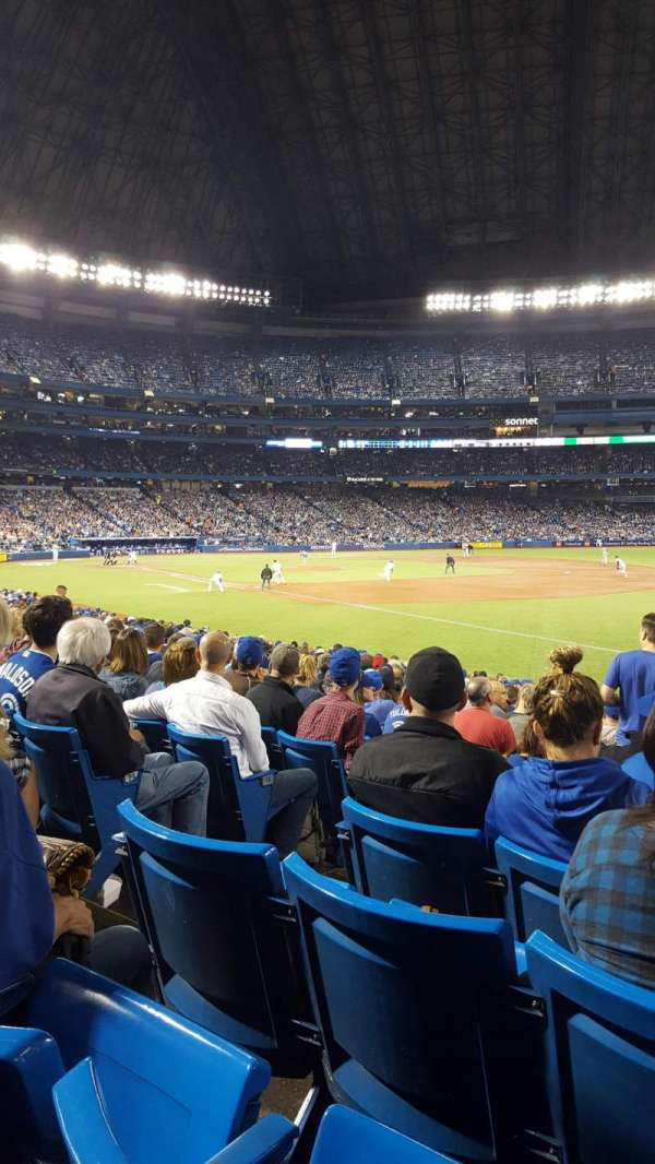 Rogers Centre, section: 113BR, row: 22, seat: 4