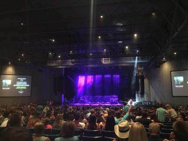 PNC Music Pavilion, section: 6, row: U, seat: 9