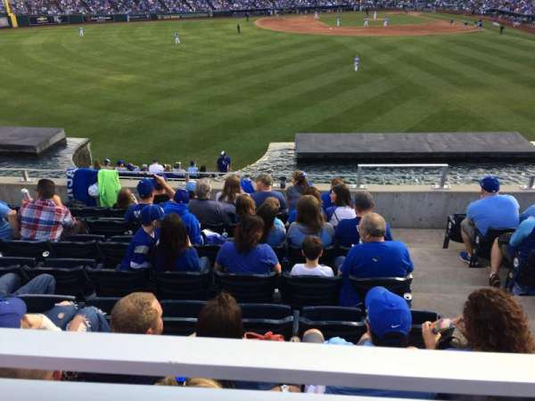 Kauffman Stadium, section: 202, row: HWC, seat: 5