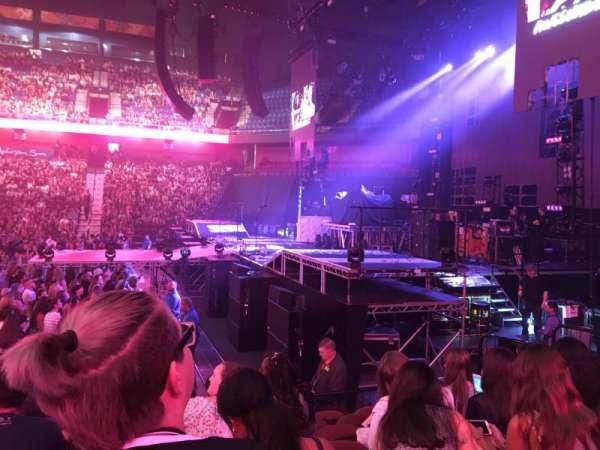 Mohegan Sun Arena, section: 14, row: J, seat: 13