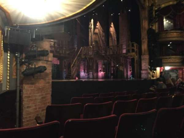 Richard Rodgers Theatre, section: Orchestra L, row: E, seat: 23