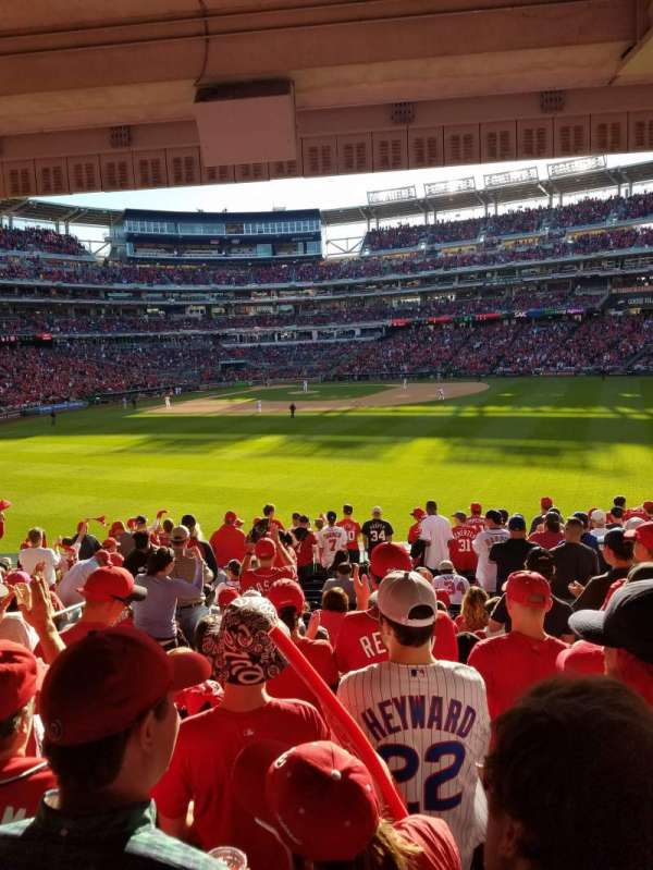 Nationals Park, section: 142, row: S, seat: 23