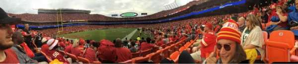 Arrowhead Stadium, section: 117, row: 6, seat: 14