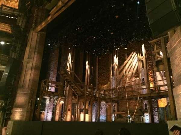 CIBC Theatre, section: Orchestra R, row: F, seat: 16