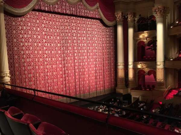 Academy of Music, section: Balcony H, row: BB, seat: 5