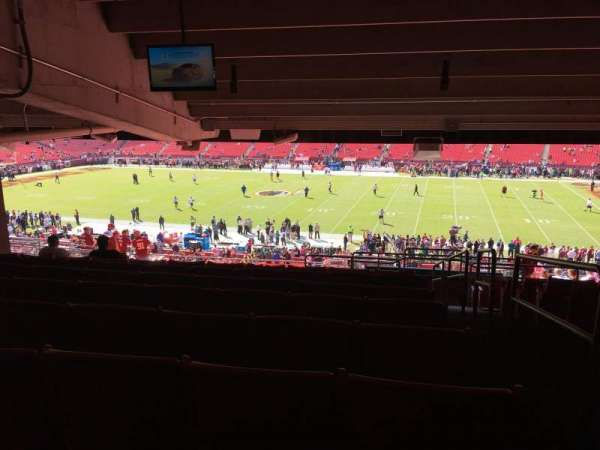FedEx Field, section: 220, row: 20, seat: 1