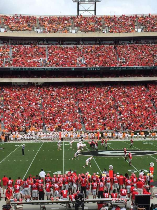Sanford Stadium, section: 132, row: 27, seat: 12