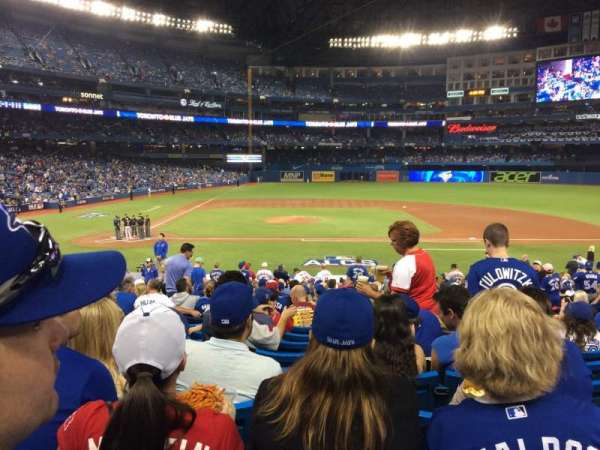 Rogers Centre, section: 117L, row: 29, seat: 108