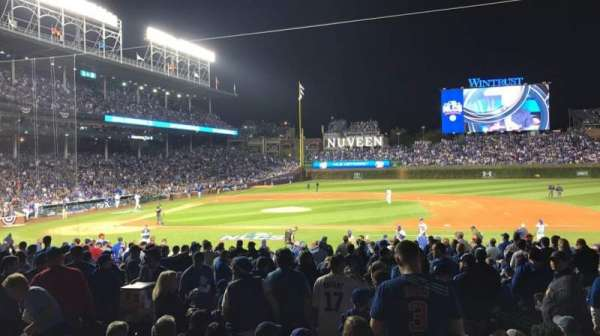 Wrigley Field, section: 124, row: 11, seat: 6