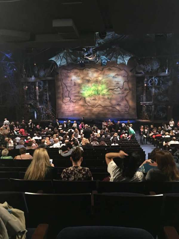 Gershwin Theatre, section: Orchestra C, row: X, seat: 117