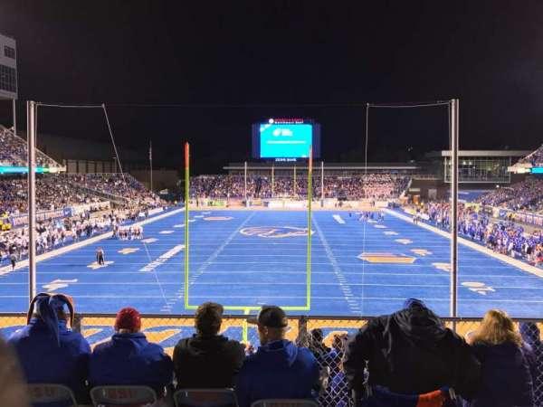 Albertsons Stadium, section: 133, row: B, seat: 13
