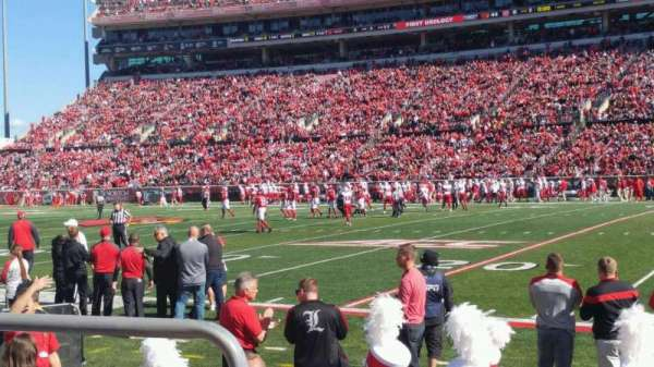 Papa John's Cardinal Stadium, section: 127, row: B, seat: 118