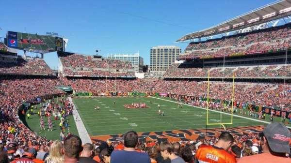 Paul Brown Stadium, section: 158, row: 39, seat: 18