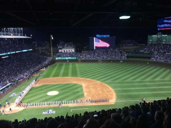 Wrigley Field, section: 424R, row: 7, seat: 7
