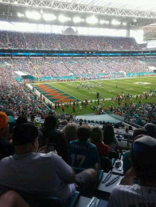 Hard Rock Stadium, section: 252, row: 6, seat: 16