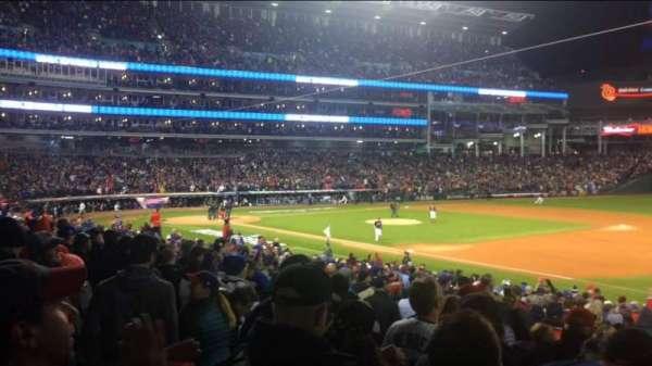 Progressive Field, section: 134, row: AA, seat: 5
