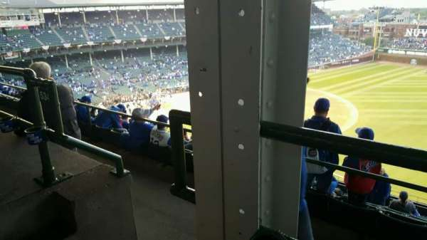 Wrigley Field, section: 429R, row: 1, seat: 1,2