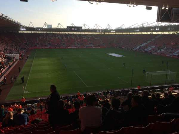 St Mary's Stadium, section: 45, row: KK, seat: 1176