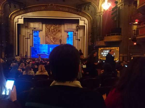 Lyric Theatre, section: Orchestra C, row: T, seat: 116