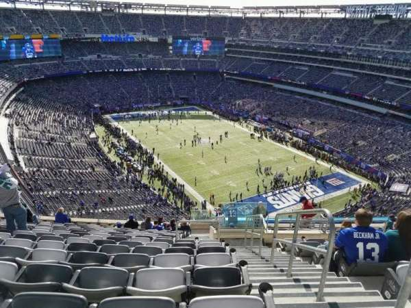 MetLife Stadium, section: 306, row: 19, seat: 1