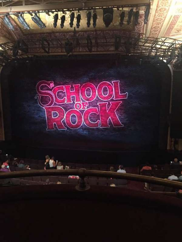 Winter Garden Theatre, section: Mezzanine RC, row: B, seat: 126