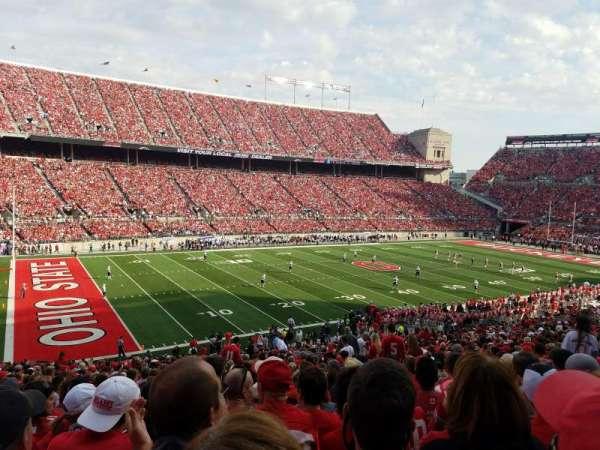 Ohio Stadium, section: 13, row: 29, seat: 21