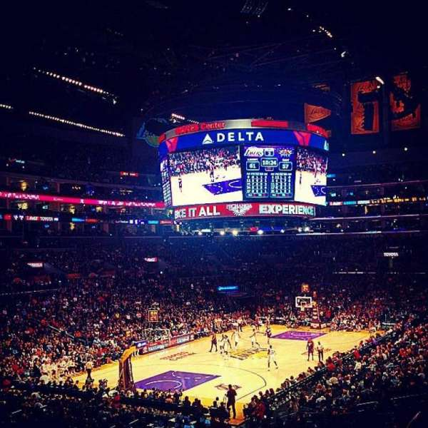 Staples Center, section: 214, row: 8, seat: 10