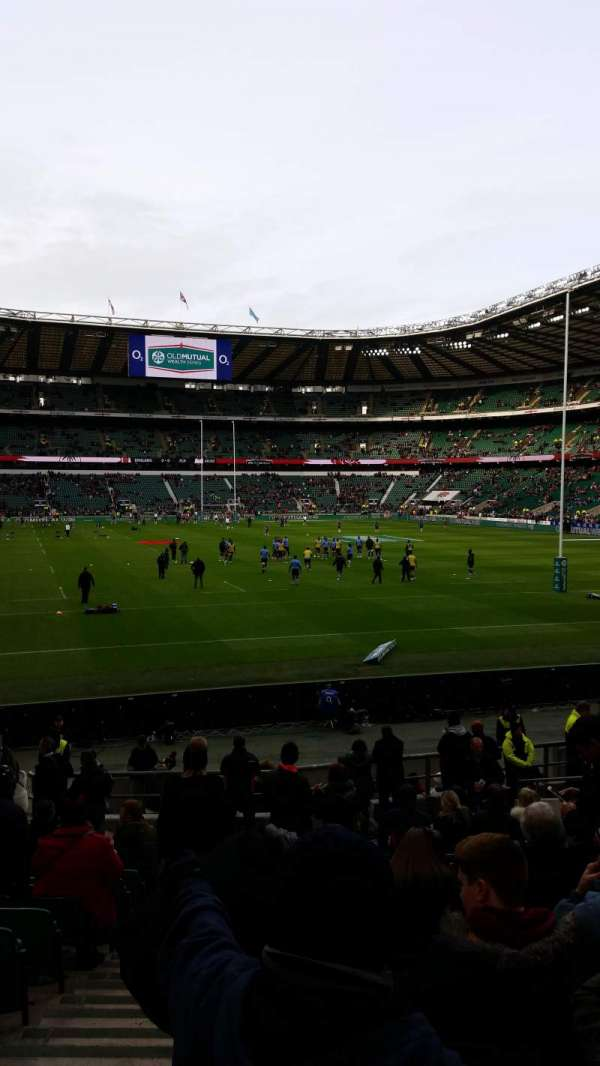 Twickenham Stadium, section: L35, row: 22, seat: 238