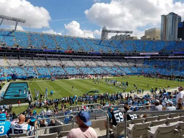 Bank of America Stadium, section: 348, row: 12, seat: 2