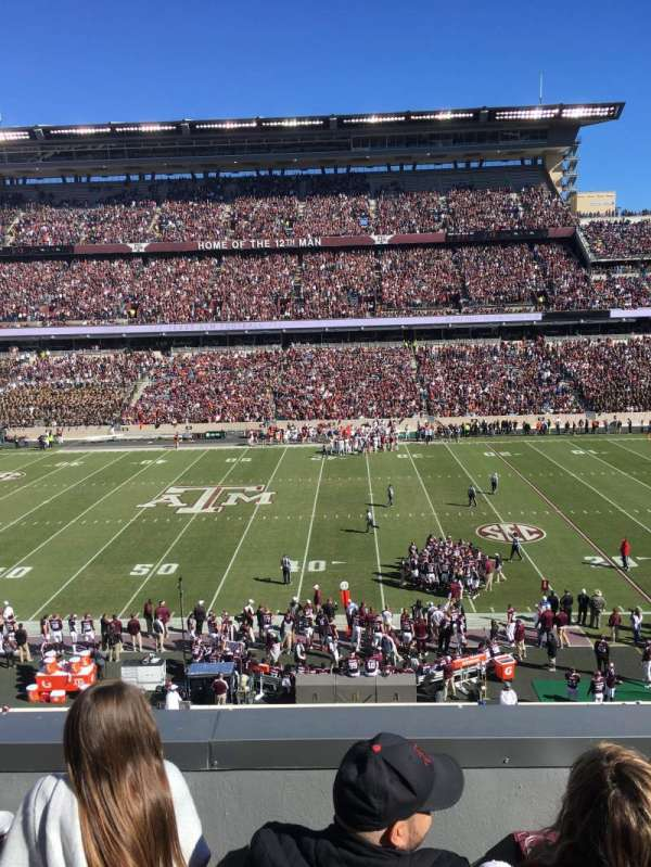 Kyle Field, section: LC5