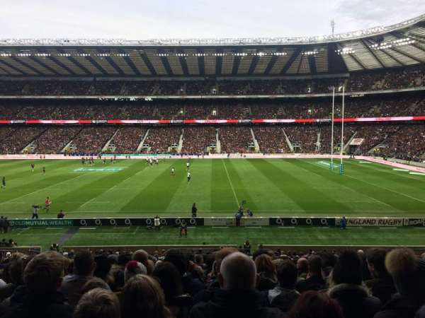 Twickenham Stadium, section: L4, row: 34, seat: 200