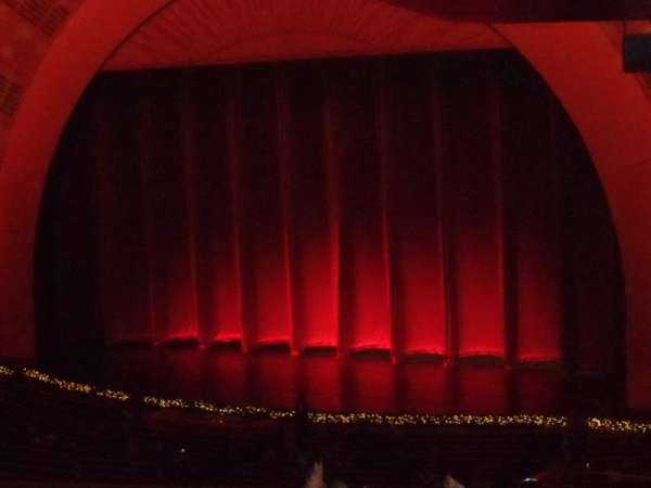 Radio City Music Hall, section: 1st Mezzanine 1, row: J, seat: 110
