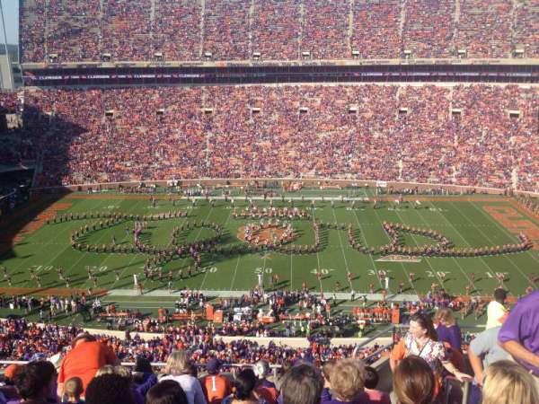 Memorial Stadium, Clemson, section: TDE, row: G, seat: 5-7