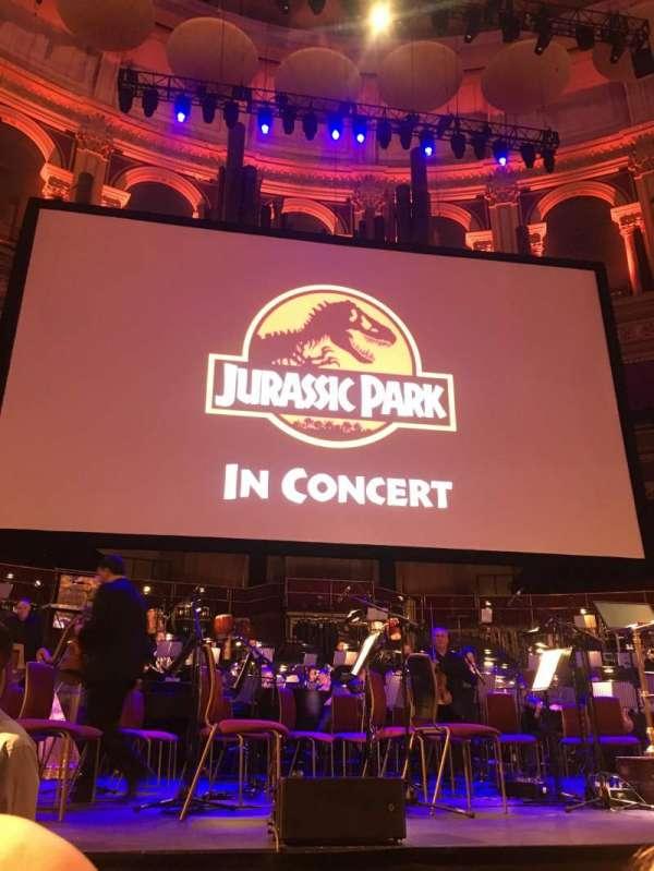 Royal Albert Hall, section: Arena