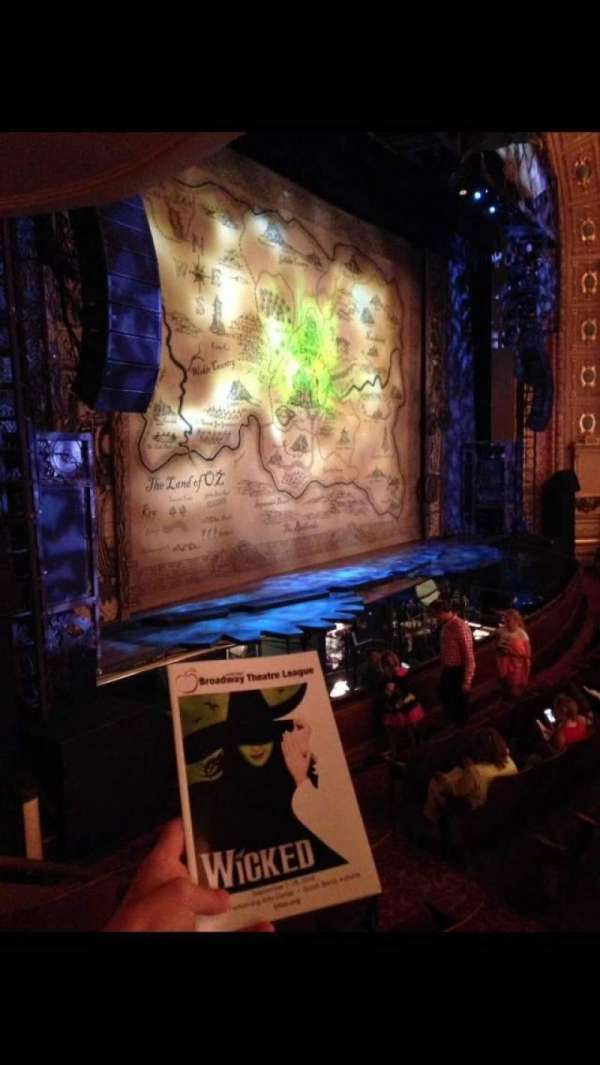 Morris Performing Arts Center, section: BOX LL, row: D, seat: 2