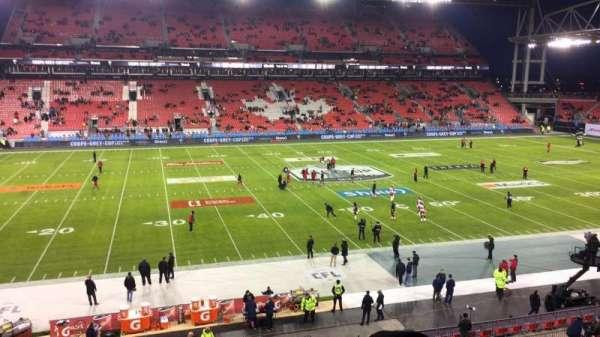 BMO Field, section: 225, row: 4, seat: 10