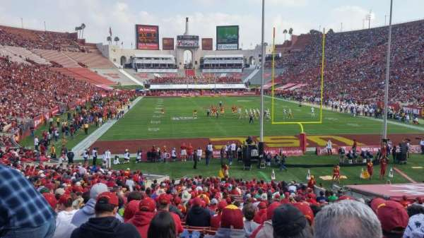 Los Angeles Memorial Coliseum, section: 15L, row: 30, seat: 13