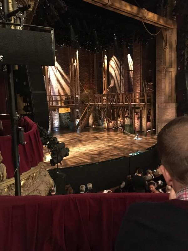 CIBC Theatre, section: Dress Circle Box 1, row: A, seat: 209