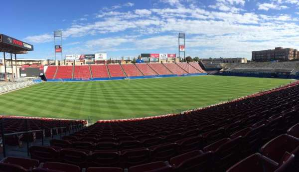 Toyota Stadium, section: 103, row: 28, seat: 17