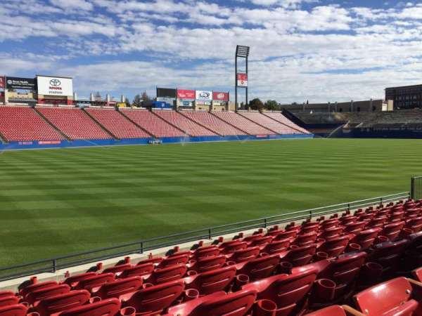 Toyota Stadium, section: 102, row: 7, seat: 2