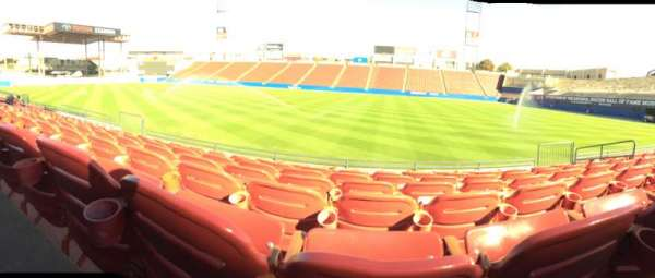 Toyota Stadium, section: 108, row: 7, seat: 13
