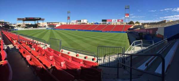 Toyota Stadium, section: 111, row: 4, seat: 7