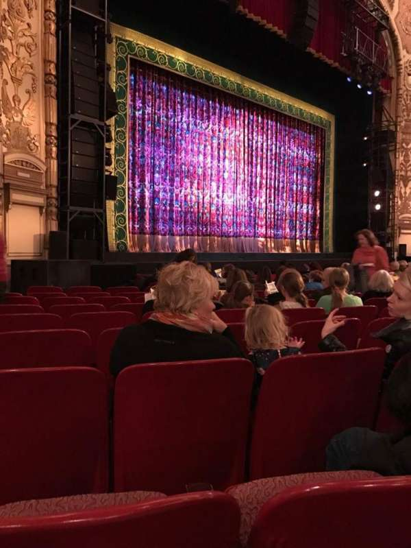 Cadillac Palace Theater, section: Orchestra L, row: L, seat: 29