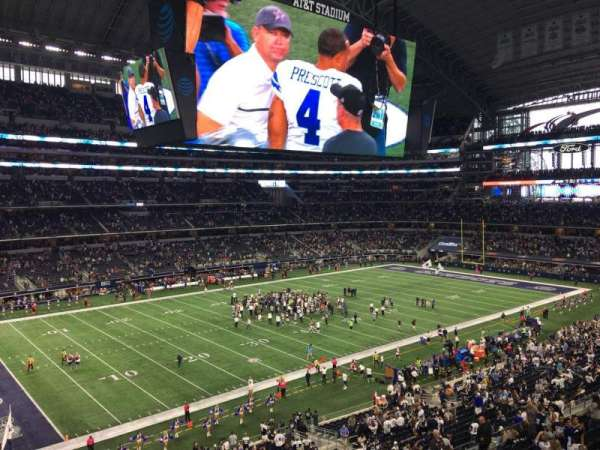 AT&T Stadium, section: 316, row: 4, seat: 2