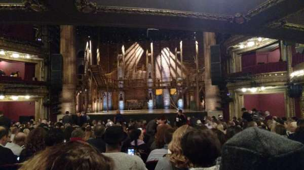 CIBC Theatre, section: Orchestra C, row: W, seat: 117