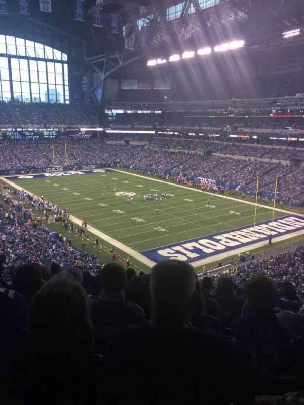 Lucas Oil Stadium, section: 431, row: 9, seat: 9