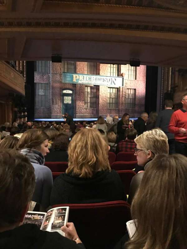 Al Hirschfeld Theatre, section: Orchestra L, row: T, seat: 9