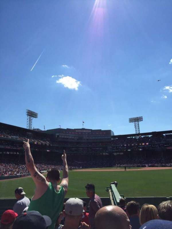 Fenway Park, section: Bleacher 42, row: 8, seat: 1