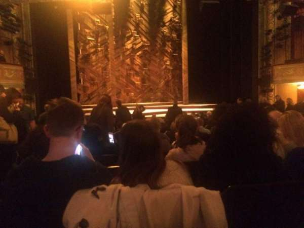 Bernard B. Jacobs Theatre, section: Orch, row: O, seat: 115